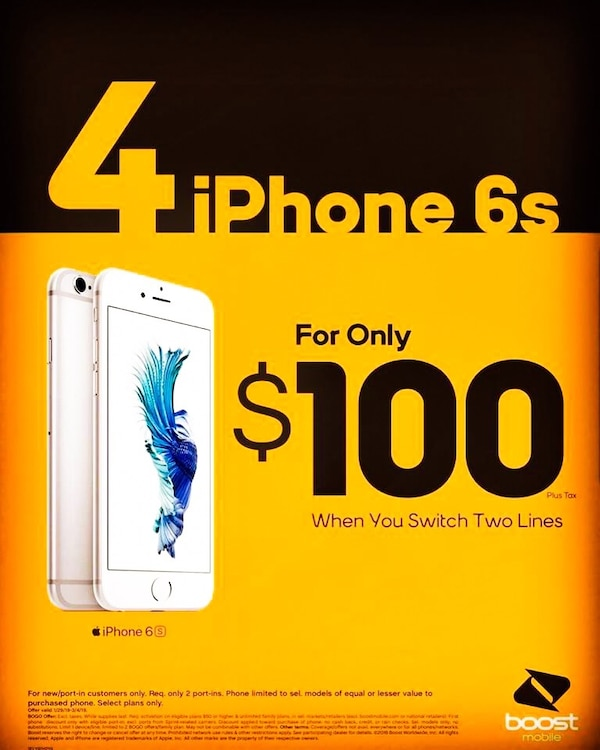100 Dollars A Month >> 4 Iphones For Only 100 Dollars A Month