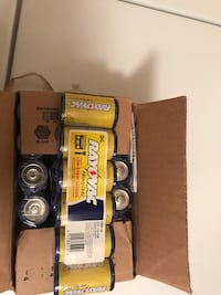 Box of 24 count Rayovac size D batteries Richmond, 23223