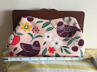 2 clutch fabric purses Toronto, M4C 2L7