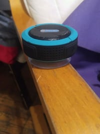 black and blue portable speaker Toronto, M5A 2L1