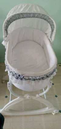 baby's white bassinet Surrey, V3W 3K6