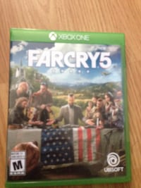 Xbox one farcry 5 game  Calgary, T2W