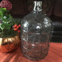 Glass & Wire Vase-New Falls Church, 22046