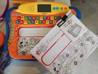 white and red Vtech learning toy Highland Park