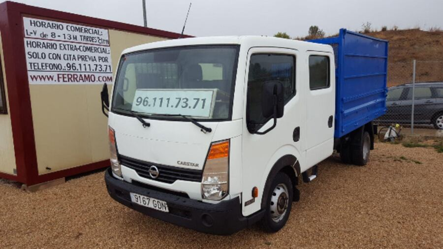 Nissan Cabstar Doble Cabina Volquete 0