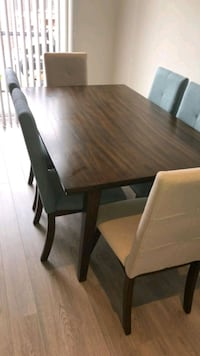 6 chair dining table