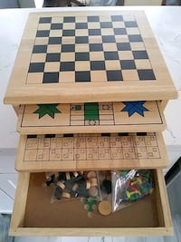 brown wooden chess board game Waterloo