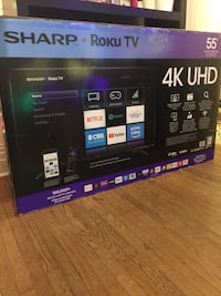 "55"" 4K Brand New never open Smart TV Toronto, M6H 3A4"