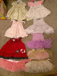 Dresses 3-6 months Tutus one size fits all Woodfield