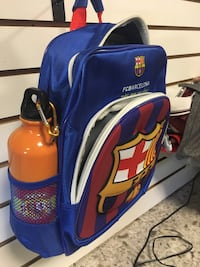 Two blue and red backpack 24 km