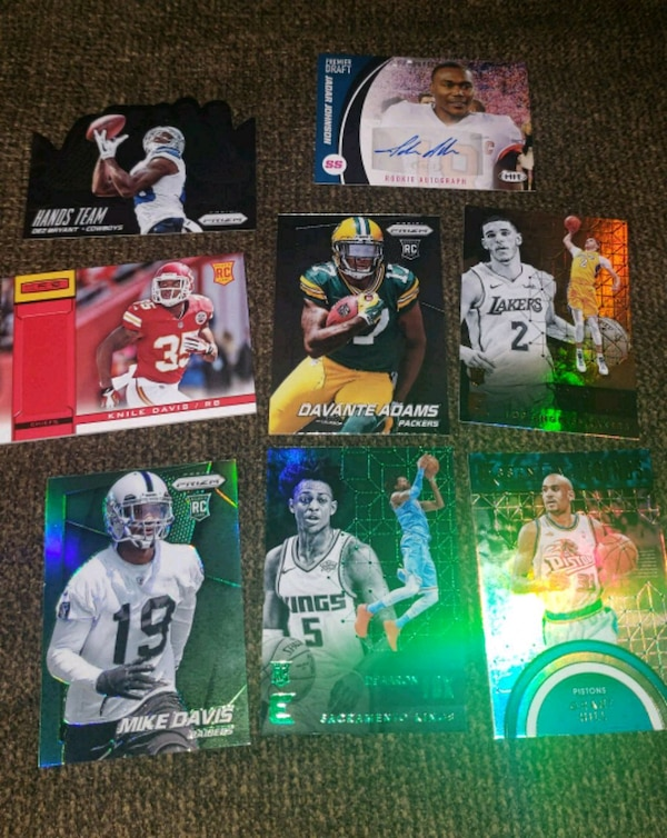 Used 2013 2018 Rookies And Autographs Insert Cards For Sale