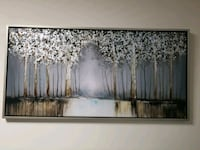 60 × 30 inch almost new wall painting Mississauga, L4T 4M7