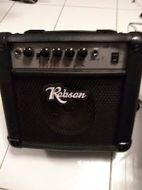 ROBSON GA-15TS Guitar Amplifier Excellent Condition!  Smoke and pet free home. LIke new condition. Comes with stand to put on an angle and uses 120 Volts.  VIEW MY OTHER ADS!!! Toronto