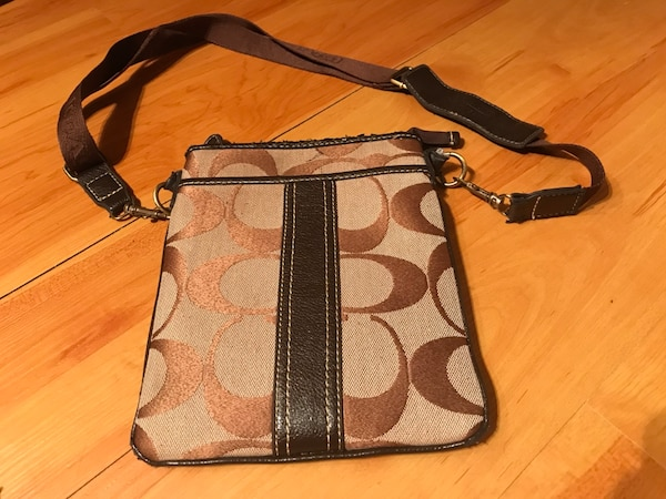 Used This Poor Old Coach Crossbody Bag For In