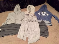 Size large hoodies and cardigan Calgary, T2Y 4R3