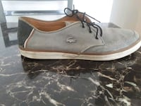 gray Lacoste low-top sneaker Montréal, H1T 3L9