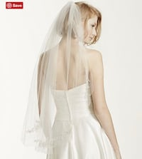 Brand new size 8 wedding dress and veil New York