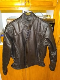 womens leather riding jacket  Muskego