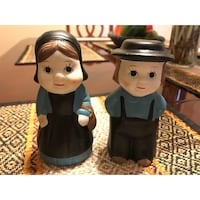 Vintage Pilgrim Figurines Decor Salt and Pepper Shakers Houston, 77077