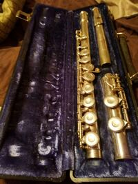 black and brown clarinet in case Washington