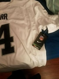white and black NFL jersey Los Angeles, 90042