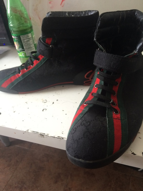 b76e0fecceed Used Men s Gucci High Top    Unisex Gucci Sandals for sale in Toronto