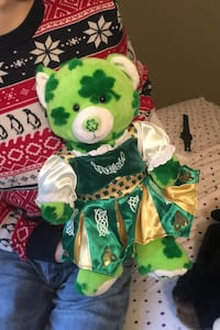 Celtic Build a Bear Ireland Plush with Darling Outfit
