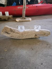 Driftwood with candles Innerkip, N0J 1M0