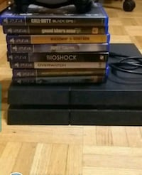 Ps4 with games 500 gb Mississauga