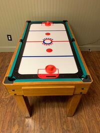 Harvard 8 in 1 Game Table with:  Foosball, Mini-Pool Table and more