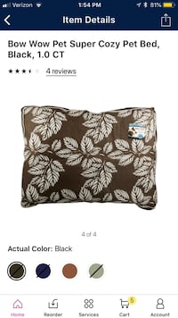 Brown dog bed  Simpsonville, 29681