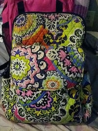 floral multicolored Vera Bradley bag