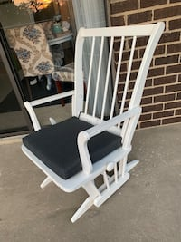 White Gliding Rocking Chair Alexandria, 22304