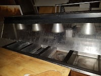 4 well steam table w/sneeze guard Cambridge, N3H 3B6