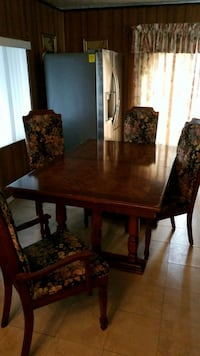 Dinning Table for 6   62inx42in Orange, 92868