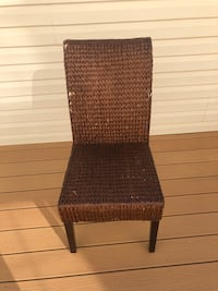 Six Pier 1 wicker chairs, moving sale! Chantilly, 20152