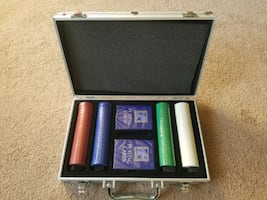 Limited Edition 200 Piece Poker Set w/Aluminum Case, Pavilion Brand