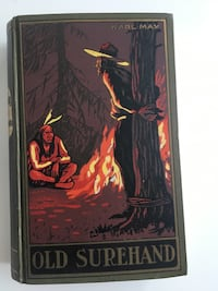 "Antique 1900 Karl May's Western ""Old Surehand"" Hardbound Book (German Text) Calgary, T3C 0X6"