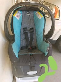 baby's gray and teal car seat carrier Phoenix, 85027