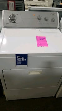 Whirlpool natural gas dryer 29inches.