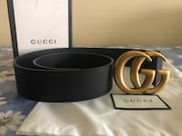 Gucci Brass GG Belt *Authentic* Stony Brook, 11790