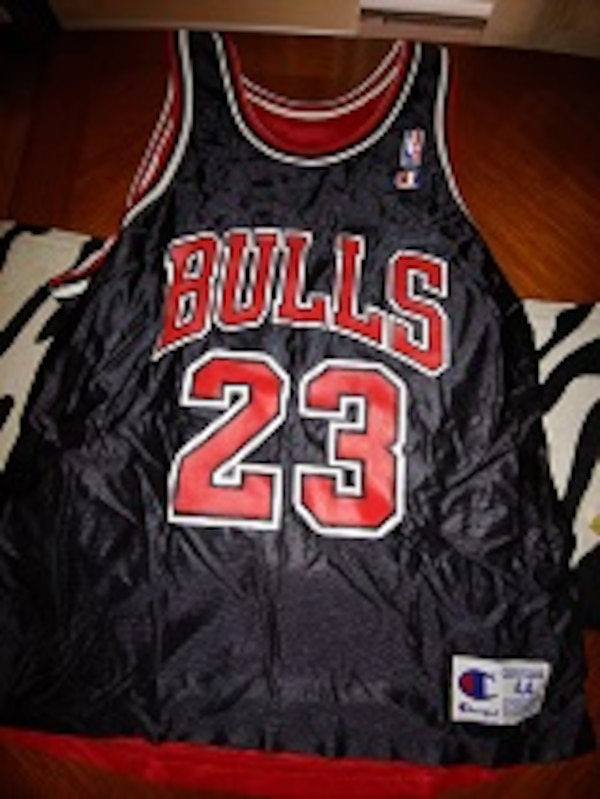 45104afbb18b08 Used MICHAEL JORDAN VINTAGE REVERSIBLE JERSEY BY CHAMPION for sale in  Arlington Heights - letgo