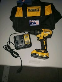 DEWALT 20-Volt MAX Lithium-Ion Brushless Cordless Compact 1/2 in. Dril Addison, 75001