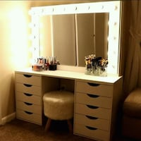 Decoration makeup tables light sistem