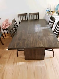 Dining Table with 6 chairs. Alexandria, 22305