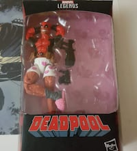 Marvel Legends Deadpool Boxers VANCOUVER