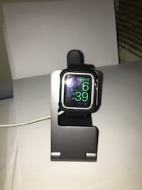 Series 3 Apple Watch 38mm comes with bumper and charging dock Silver Spring, 20904