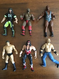 6 WWE Action Figure Wrestling Toys  Dallas, 75232