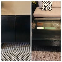 WEST ELM: Coffee Table & Storage Cabinet Costa Mesa, 92626