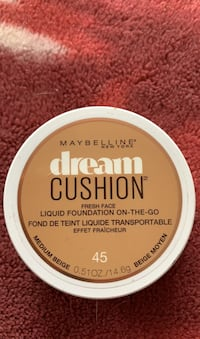 Maybelline dream cushion foundation  Barrie, L4N 5A4